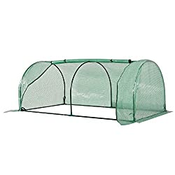 ✅PROTECT PLANTS FROM THE ELEMENTS: Bring all of your plants together in a unified and protected space that helps you manage and grow your plants, fruits, vegetables, and flowers all year round. ✅UPDATED DESIGN WITH 2 LARGE DOORS: 2 large side doors c...