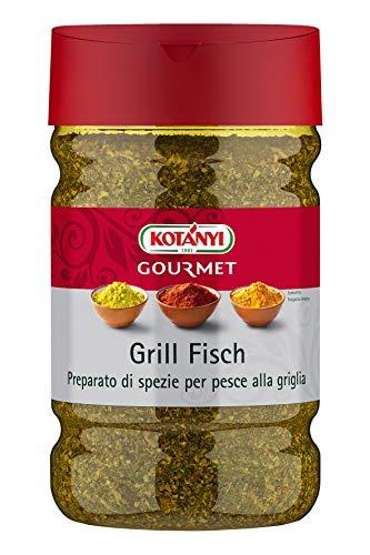 Kotanyi Grill Fisch Gewürzzubereitung Gewürze für Großverbraucher und Gastronomie, 790 g