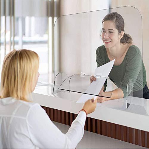 CAREXY Schutzhustenschutz, Büro-Schreibtisch Hustenschutz Husten Bildschirm Niesschutz für Checkout-Monitorständer