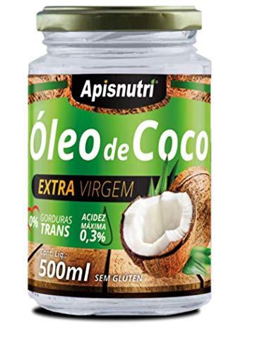 Óleo De Coco Extra Virgem 500Ml, Apisnutri
