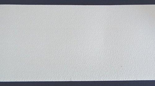 1 m Gummiband 100 mm breit weiß