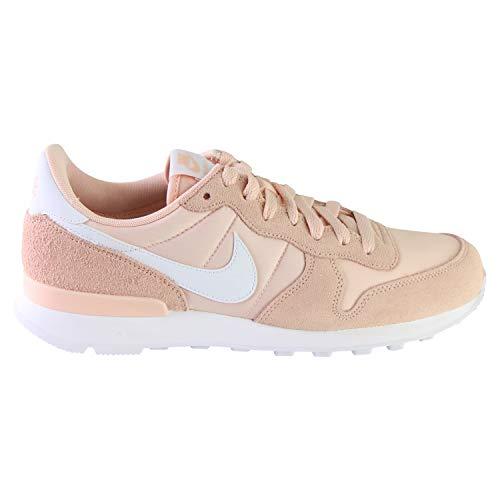 Nike Internationalist, Sneaker Mujer, Washed Coral/Blanco, 40 EU