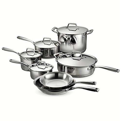 Tramontina 80101/203DS Gourmet Prima Stainless Steel, Induction-Ready, Impact Bonded, Tri-Ply...
