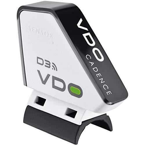 VDO Wireless and Funk Trittfrequenz Kit für M5 M6 inkl. TF Magnet Fahrrad Computer Zubehör, Schwarz, Nicht zutreffend