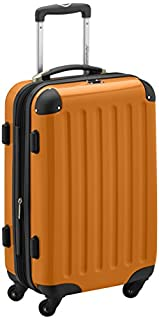 HAUPTSTADTKOFFER - Alex- Carry on luggage On-Board Suitcase Bag Hardside Spinner Trolley 4 Wheel Expandable, 55cm, orange (B007AU6T76) | Amazon price tracker / tracking, Amazon price history charts, Amazon price watches, Amazon price drop alerts