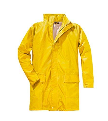 ELUTEX 8155 PU-Regenjacke, gelb, XXXL