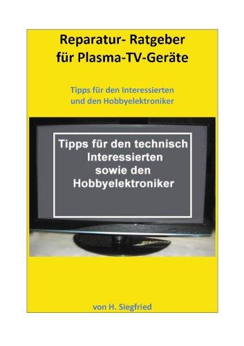 Reparatur-Ratgeber für Plasma-TV-Geräte