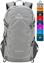 Venture Pal 40L Lightweight Packable Travel Hiking Backpack Daypack, A8 Gray, One Size
