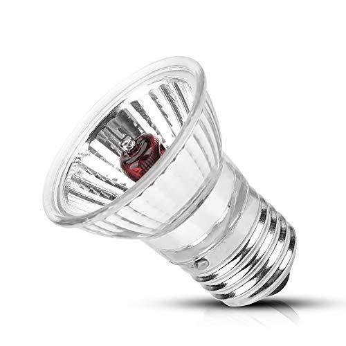 YOUTHINK Heizlicht, UVA UVB Reptilienheizung Lampe Glühbirne Zubehör Vollspektrum 2.0 Sonnenlicht Lampe Für Schildkröte Eidechse(25W)