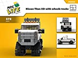 Nissan Titan XD with wheels tracks (Instruction only): Moc Life