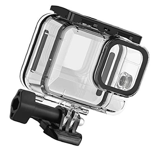 Tuimiyisou Custodia impermeabile per GoPro Eroe 9 custodia protettiva Immersione Conveniente e Non facile da rompere copertina Azione Camera Accessories
