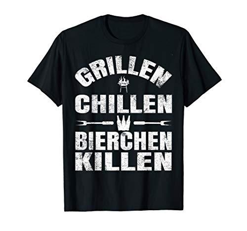 Herren Grillen Chillen Bierchen Killen...