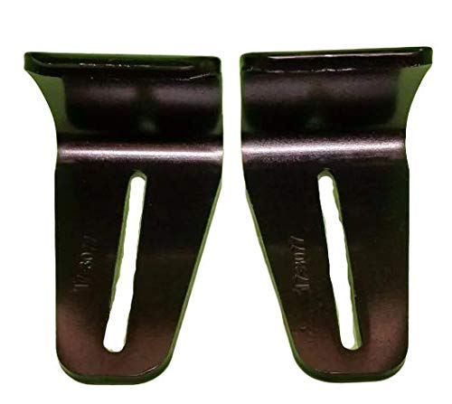 Lowest Prices! Set of 2 Snow Thrower Skid Plates Replaces Honda 76153-743-611 76153-743-610