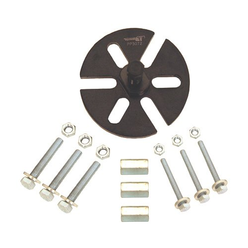 Pit Posse PP3072 Universal 6 Hole Flywheel Rotor Magneto Puller w/ 5mm Diameter and 6mm Bolts