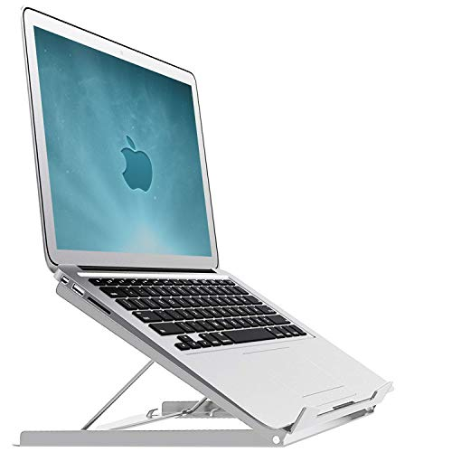 iMount Butterfly Laptop Riser/Cooling Pad Stand, Compatible 11.6'-15.6' Laptops & Macbooks