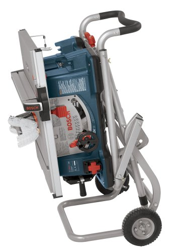 Bosch 10-Inch Worksite Portable Table Saw With Gravity-Rise