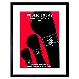 The Art Stop Music Public Enemy Old School Rapper Rap HIP