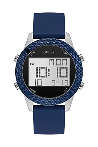 Guess Watches Gents Prodigy Reloj para Mujer Digital con Brazalete de Silicona W1037G1