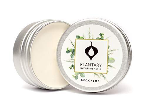 Plantary Deo Creme ohne Aluminium 30ml vegan bio, Unisex-Duft für Damen und Herren, Deocreme für die Familie, Bio Naturkosmetik mit der Zaubernuss, DERMA TEST
