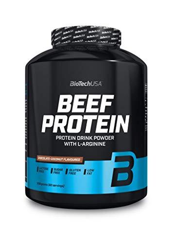 BioTech Beef Protein Hydro Beef Proteínas de Carne de Vacuno, Sabor Fresa - 1816 gr