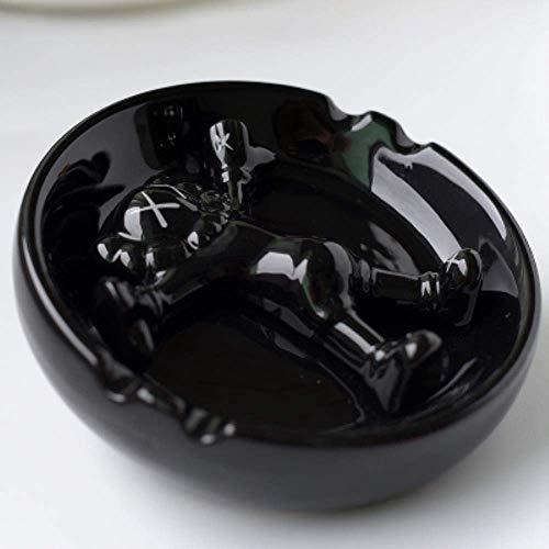 FHKBK Cenicero de cerámica, Moda, Personalidad Creativa, Regalo, Gran Boutique, cenicero, Sala de Estar, Dormitorio, Bar, 1