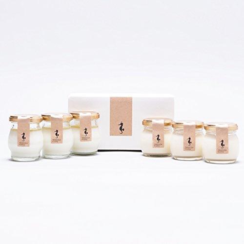 天草プリン TENGUSA pudding 6個セット〔チーズプリン(80g)×3個・牛乳柚子プリン(80g)×3個〕