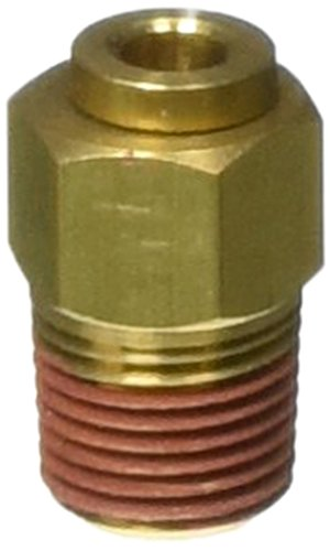 Helix 12026 1/8' NPT Male to 5/32' Tube Air Fitting