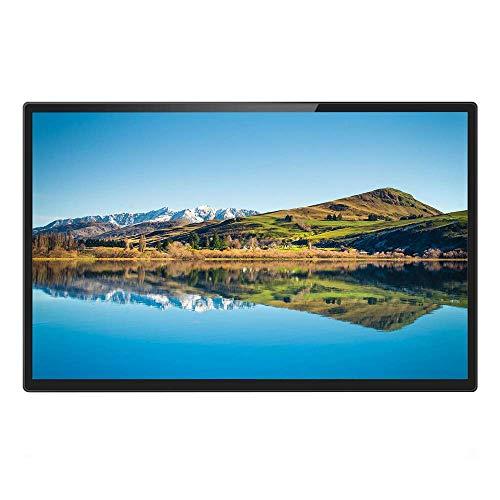 SEESEE.U Digitale Bilderrahmen 32 Zoll IPS Home LED elektronisches Fotoalbum gehärtetes Glas hochauflösende 1080p Werbemaschine schwarz - Unterstützung HDMI Geschenk