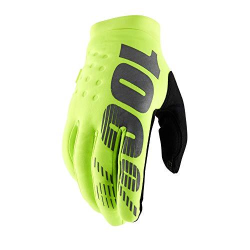 100% Brisker Handschuhe, Kind(Neon Gelb, X-Groß)