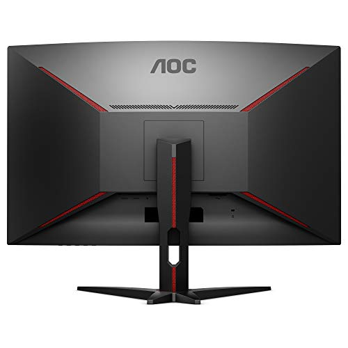 AOC Écran PC gamer incurvé C32G1 80cm (31,5pouces) (FHD, HDMI, temps de réponse de 1ms, DisplayPort, 144Hz, 1920 x 1080 px, FreeSync) noir
