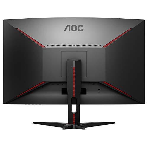 AOC Gaming CQ32G1 80 cm (31.5 Zoll) Curved Monitor (HDMI, DisplayPort, 2560x1440@144 Hz, 1 ms, Free-Sync) schwarz - 4