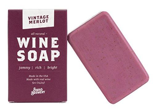 Vintage Merlot WINE SOAP | Great Gift for Women, Birthdays, Wives, Men,...