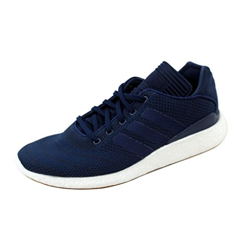 adidas Busenitz Pure Boost PK Skate Shoes Mens Navy/White/Gum4 BY4092 8.5