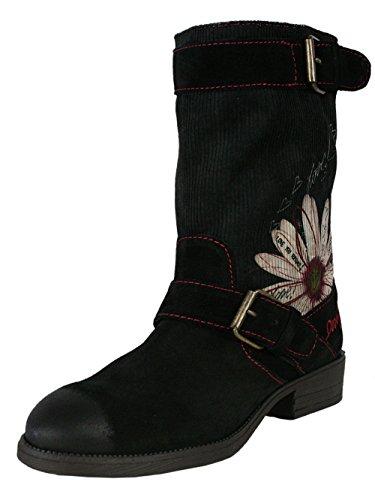 Desigual Damen Designer Top Stiefel Biker Boots Schuhe - Vanessa -36