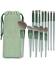 メイクブラシ 化粧筆 メイクブラシセット 高級繊維毛 柔らかい 13本 化粧ブラシ 化粧ポーチ付き セット