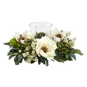 Silk Flower Arrangements Magnolia Candelabrum Silk Flower Arrangement