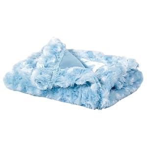 Elegant Baby Micro-Cozy Blankie- Blue