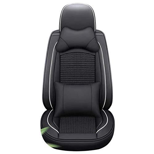 WFSH Cubiertas de Asiento de automóviles Protectores de Asiento Función Accesorios automotrices Interior Compatible con Mitsubishi (Color : Black, Size : Zinger)
