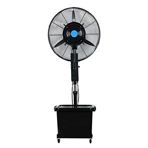 Standlüfter Oszillierender Elektrischer Standventilator Industrie-Sprühventilator Wasser abkühlen lassen Höhenverstellbar Kommerzieller starker Hochleistungs-Luftbefeuchter im Freien 30 Zoll 220 V