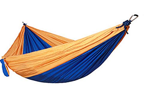 Camping Hammock Double,Portable Hammock for Indoor Outdoor Backpacking,Camping,Travelling,Beach (Multicolor 2,270140CM)