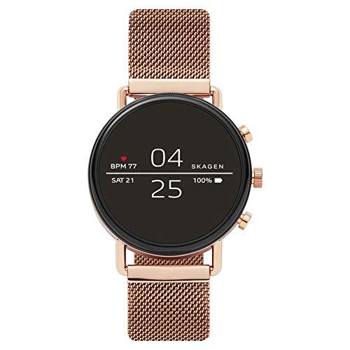 Skagen Herren-Smartwatch mit Edelstahl Armband SKT5103
