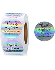 Holographic Thank You Stickers roll
