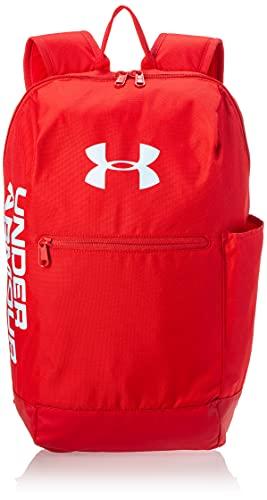 Under Armour Patterson Backpack Sac à Dos Mixte Adulte, Rouge, Taille Unique