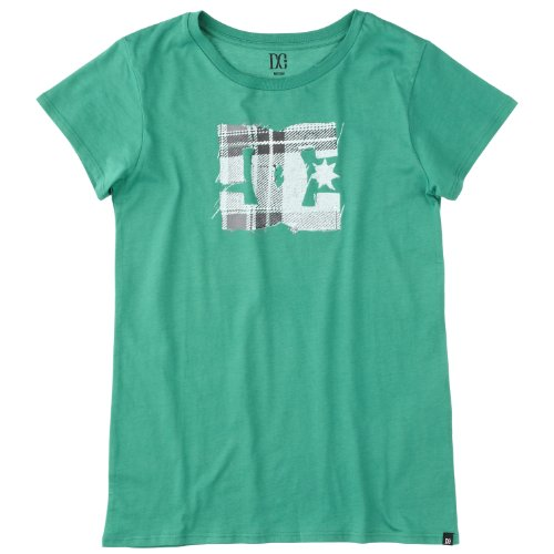DC Shoes  - Camiseta de Running para Mujer, tamaño 40 UK, Color Verde