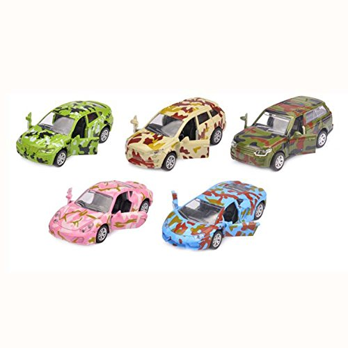 Black Temptation Grand Cadeau Jouets Enfants Tirer vers l'arrière véhicules Petite Voiture Jouet Ensemble de 5