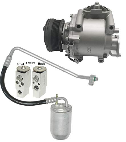RYC Remanufactured AC Compressor Kit KT A055