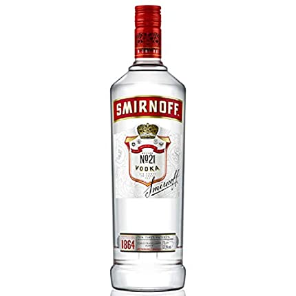 Smirnoff Red Label Vodka (1 x 1 l)