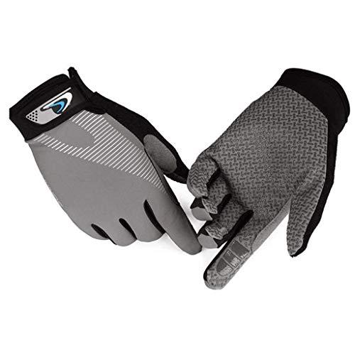 NXYJD Guantes, All-Dedo Deportivos Guantes de Pantalla táctil de Verano Thin Equitación Ciclismo Antideslizantes de los Hombres al Aire Libre del Alpinismo táctico de formación de conducción