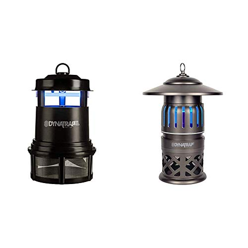 DynaTrap Insect Trap (DT2000XLP), XL, Black & DT1050-TUN Insect and Mosquito Trap Twist On/Off, 1/2 Acre, Tungsten
