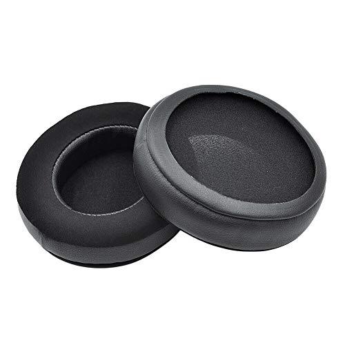 Ansemen Reemplazo Orejeras para Razer Nari/Nari Ultimate/Nari Essential, Almohadillas de Esponja (1 par, Negro)